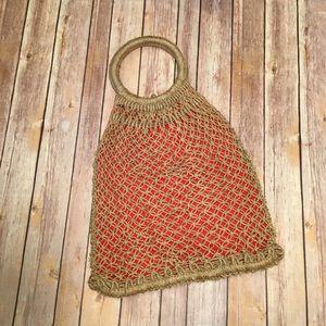 Handbags - Vintage Crochet Purse/Bag